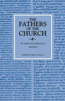 John of Damascus: Writings