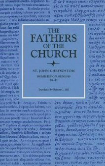 John Chrysostom: Homilies on Genesis 18–45