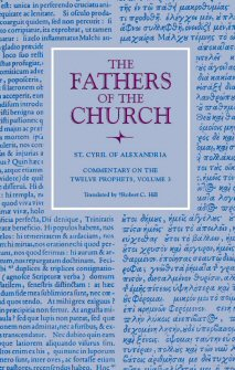 Cyril of Alexandria: Commentary on the Twelve Prophets, vol. 3