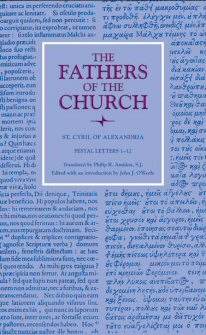 Cyril of Alexandria: Festal Letters 1–12