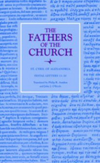 Cyril of Alexandria: Festal Letters 13–30