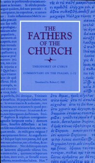 Theodoret of Cyrus: Commentary on the Psalms 1–72
