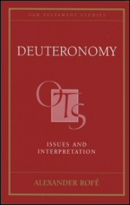 Deuteronomy: Issues and Interpretation