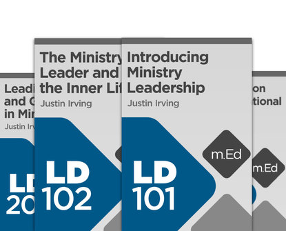 Mobile Ed: Ministry Leadership Bundle (4 courses)