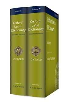 Oxford Latin Dictionary, Second Edition