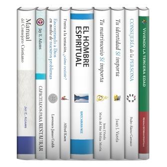 Colección de consejería cristiana CLIE (9 vols.)