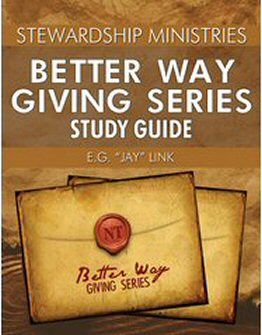 Better Way Giving Series: Study Guide