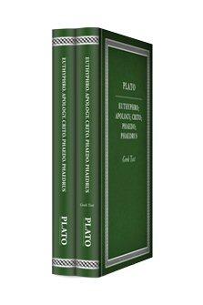 Plato's Euthyphro. Apology. Crito. Phaedo. Phaedrus (2 vols.)