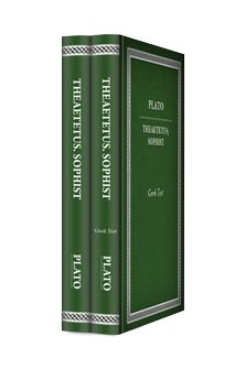 Plato's Theaetetus. Sophist (2 vols.)