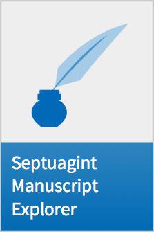 Septuagint Manuscript Explorer