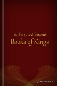 The First and Second Books of Kings