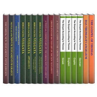 Stuttgart Scholarly Editions: New Testament (17 vols.)