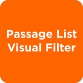 Passage List Visual Filter