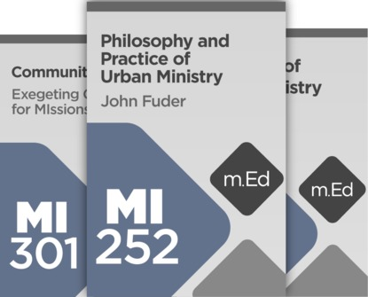 Mobile Ed: John Fuder Urban Ministry Bundle (3 courses)