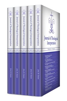 Journal of Theological Interpretation Upgrade,  Volumes 7–9.1 (2013–2015) (5 issues)