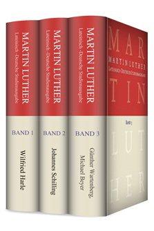 Martin Luther - Lateinisch-Deutsche-Studienausgabe (3 Bände)