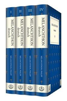 Philipp Melanchthon Sammlung (4 Bände)