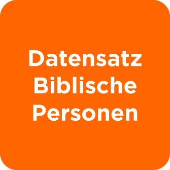 Datensatz Personen der Bibel
