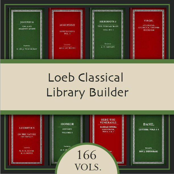 Loeb Classical Library Builder (166 vols.)