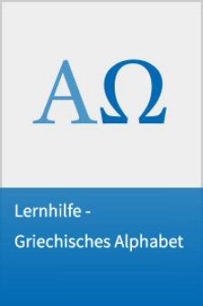 Lernhilfe - Griechisches Alphabet