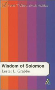 T&T Clark Study Guides: Wisdom of Solomon