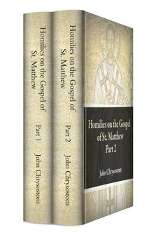 Homilies on the Gospel of St. Matthew (2 vols.)