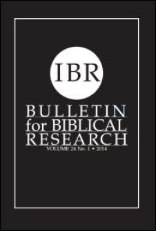 Bulletin for Biblical Research, vol. 24