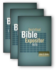 Analytical Bible Expositor: Acts, Romans, 1 & 2 Corinthians (3 vols.)