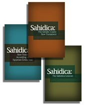 Sahidic Coptic Collection (3 vols.)