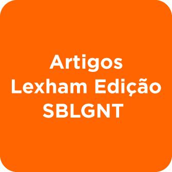 Conjunto de Dados de Artigos Lexham Edição SBLGNT