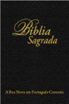 Bíblia Sagrada, A Boa Nova em Português Corrente (Novo Testamento)