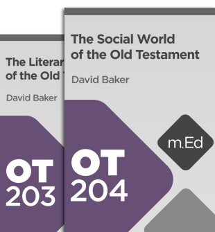 Mobile Ed: The World of the Old Testament Bundle (2 courses)
