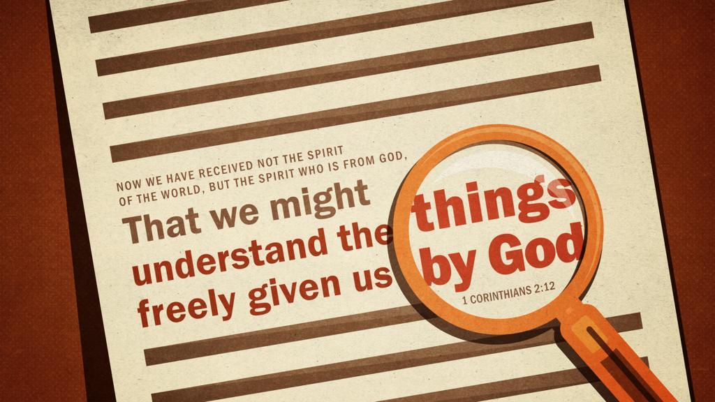 1 Corinthians 2:12 large preview