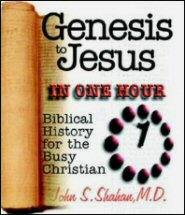 Genesis to Jesus in One Hour: Biblical History for the Busy Christian