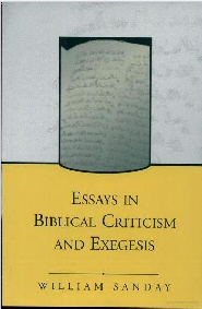 Essays in Biblical Criticism and Exegesis