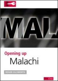Opening Up Malachi