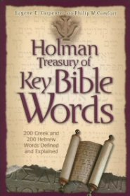 Holman Treasury of Key Bible Words