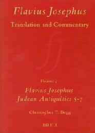 Flavius Josephus: Translation and Commentary, Volume 4 Judean Antiquities Books 5-7