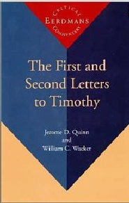 The First and Second Letters to Timothy, Volume 1 and 2