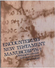 Encountering New Testament Manuscripts
