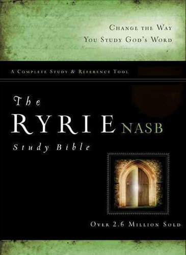 Ryrie Study Bible: New American Standard Bible