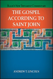 Black's New Testament Commentary: The Gospel According to Saint John (BNTC)