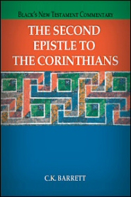 Black's New Testament Commentary: The Second Epistle to the Corinthians (BNTC)