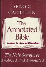 The Annotated Bible, vol. 2: Joshua to Second Chronicles