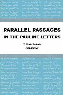 Parallel Passages in the Pauline Letters