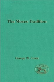 The Moses Tradition