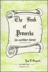 The Book of Proverbs, vol. 2