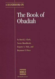 A Handbook on the Book of Obadiah