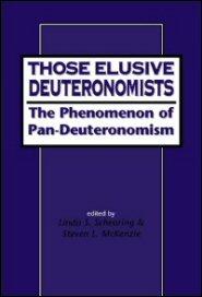 Those Elusive Deuteronomists: 'Pandeuteronomism' and Scholarship in the Nineties