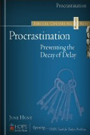 Biblical Counseling Keys on Procrastination